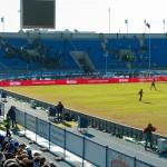 Фанаты покидают Петровский