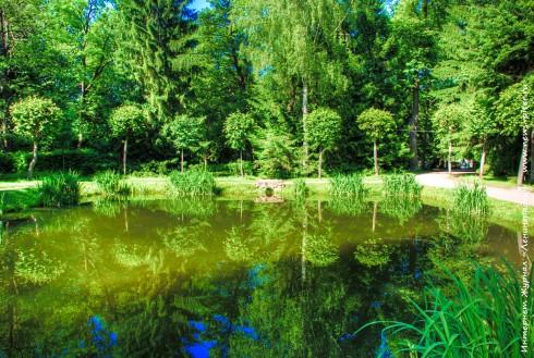 Петергоф весной и летом