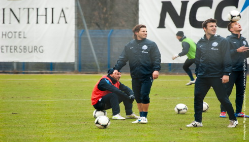 Открытая тренировка ФК Зенит