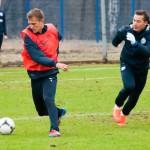 Открытая тренировка Зенита перед матчем с Кубанью