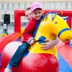 День защиты детей на Дворцовой площади