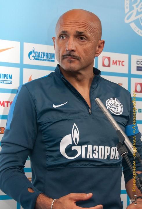 Открытая тренировка ФК Зенит перед матчем с Тереком