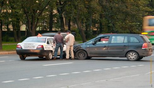 ДТП на улице Зины Портновой