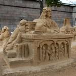 Фестиваль песчаных скульптур в Санкт-Петербурге