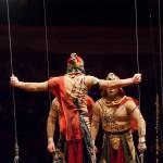 Цирк на Фонтанке акробаты на качающейся платформе «Восток»-В. Ковалев