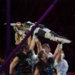 Цирк на Фонтанке акробаты на встречных качелях – А. Скокова