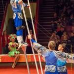 Цирк на Фонтанке акробаты с подкидными досками – В. Ковалев