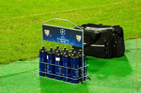Открытая тренировка фк Малага на стадионе Петровский