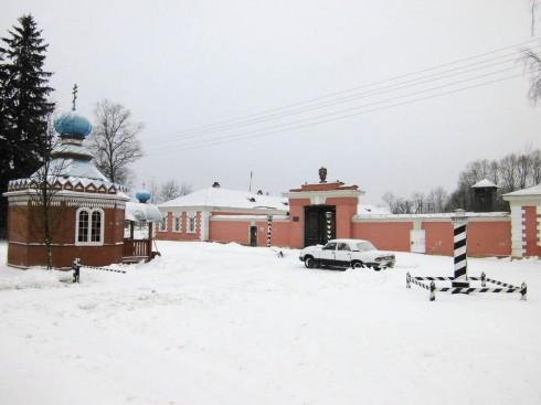 Почтовая станция Выра 3 класса на 69 версте бывшего Белорусского тракта