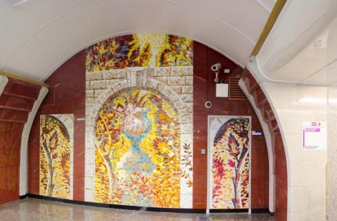 Пано станции метро Бухаресткая