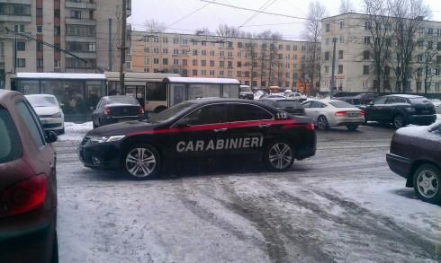 Карабинеры в Санкт-Петербурге