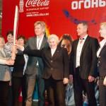Презентация Олимпийского огня в Санкт-Петербурге