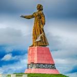 Рыбинск - Монумент «Мать-Волга»