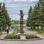 Рыбинск - Памятник Адмиралу Ф.Ф. Ушакову