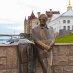 Рыбинск - памятник Л. И. Ошанину