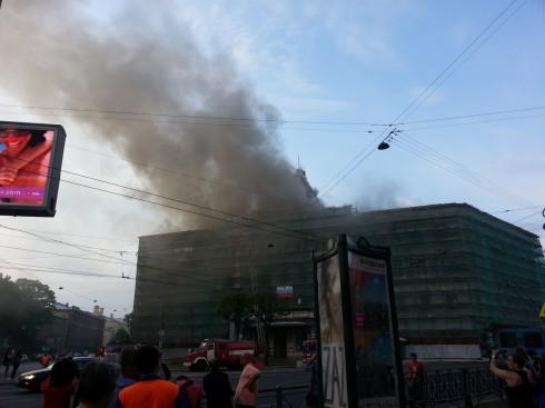 Пожар в Технологическом институте
