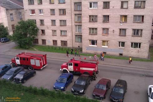 Пожар в общежитии Полярной Академии