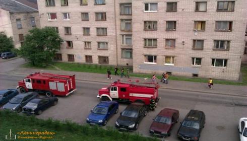 Пожар в общежитии Поялрной Академии
