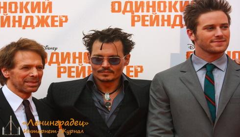 """премьера фильма """"Одинокий рейнджер"""""""
