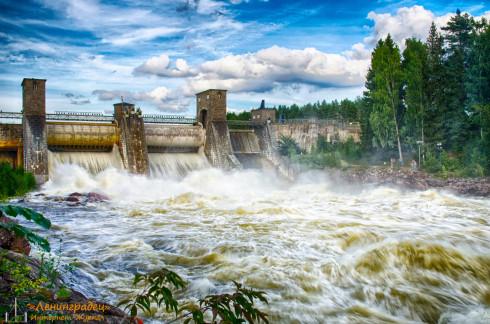 водопад г. Иматра