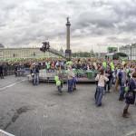 Сплин, Чайф и Animal ДжаZ на Дворцовой площади 21.09.13 фотоотчет