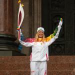 Эстафета Олимпийского огня «Сочи 2014» в Санкт-Петербурге
