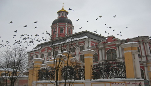 Монастыри и Монастырские подворья Петербурга