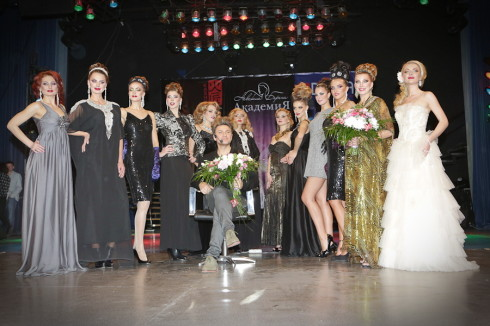 Шоу-показ Руслана Татьянина и Наталии Найда Черное и Белое