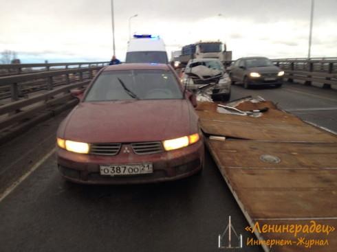 ДТП на Митрофаньевском шоссе