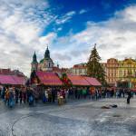 Панорама Староместской площади