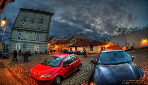 Прага. Ресторан Черный орел