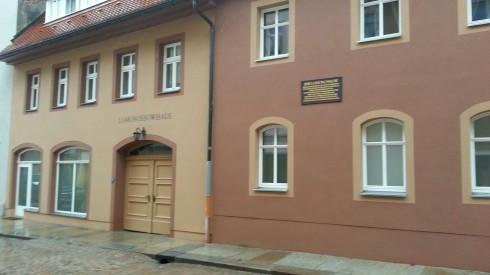 Дом Ломоносова во Фрайберге
