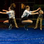 Акробаты со скакалкой под руководством заслуженного артиста России Сергея Рубцова
