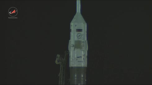 Прямой эфир с космодрома Байконур