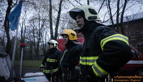Пожар в психиатрической больнице №3 им. И.И. Скворцова-Степанова