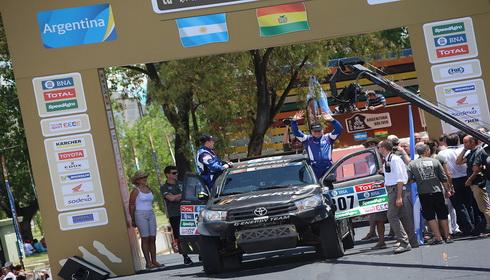 DAKAR RALLY 2016: ARGENTINA-BOLIVIA-ARGENTINA