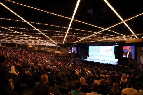 Synergy Global Forum, Нью-Йорк. Общий план зала