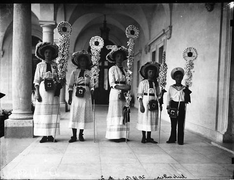 Царская семья в Ливадии