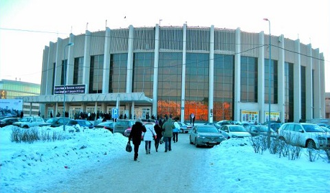 Yubileynyy dvorest sporta Saint-Petersburg